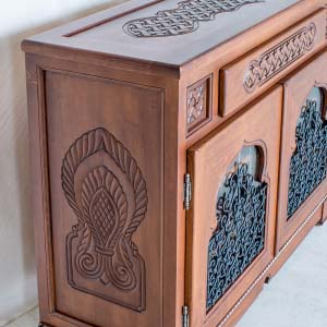 Solid Wood Sideboard 14
