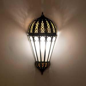 Arabic wrought iron wall lamp IL.AP.5