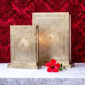 Lámpara bronce Mandala