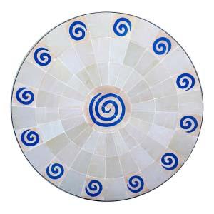 Tapa de Mosaico 16