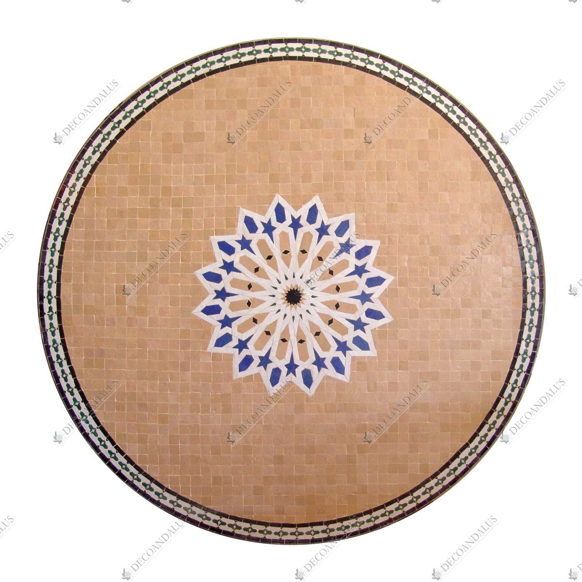 Mosaico cer mica mesas decorativas decoandalus for Mosaico ceramica