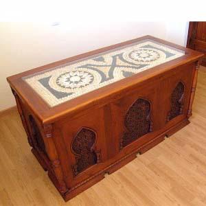 Solid Wood Desk Arabic Style 88.126