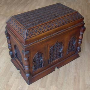 Solid Wood Trunk Carved