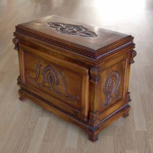 Solid Wood Trunk Carved 14