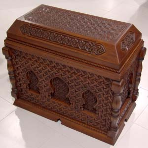 Solid Wood Trunk Arabic Style 03