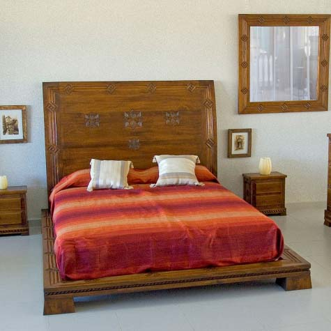 Wood Bed 45