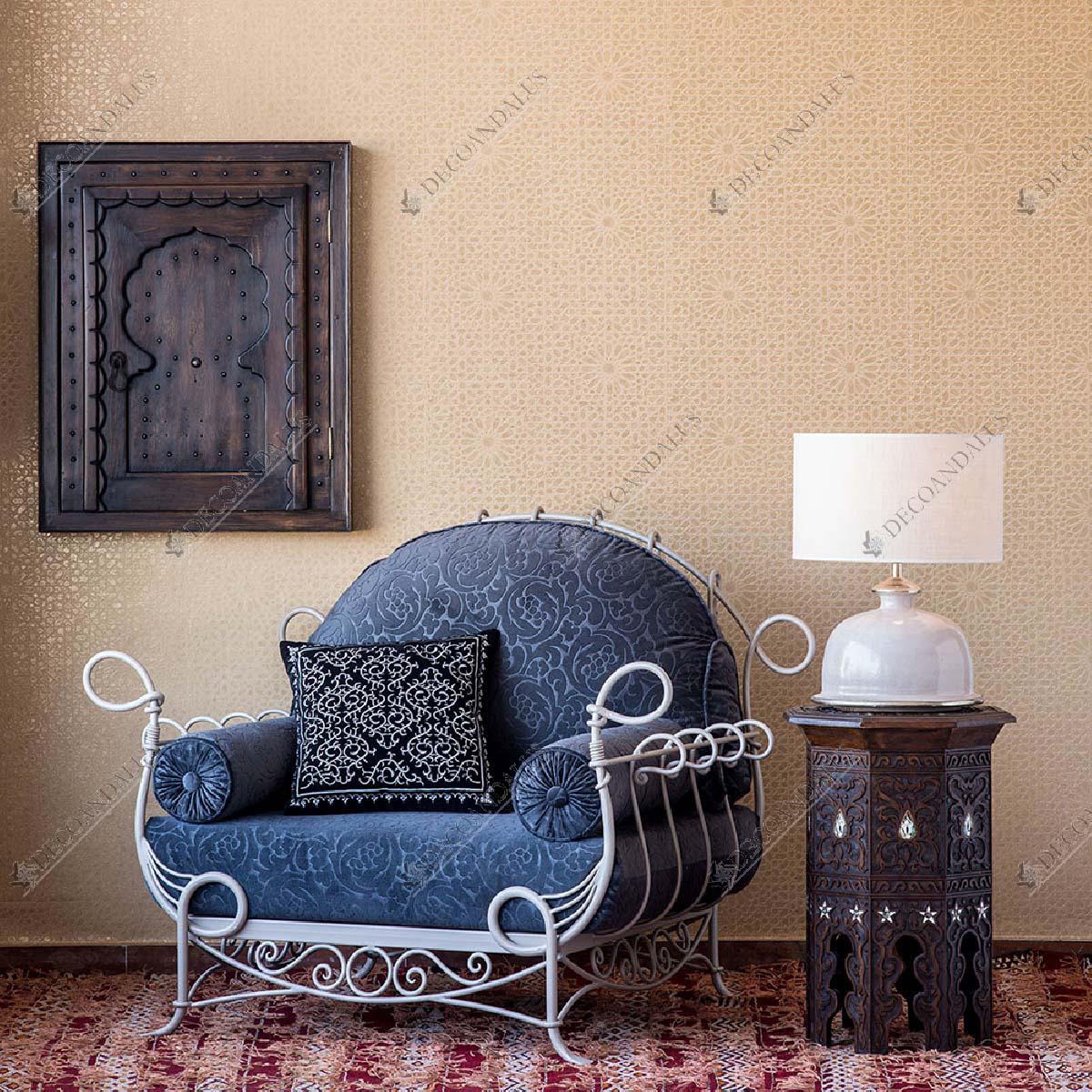 Sill n forja muebles jard n marbella estepona for Muebles de jardin malaga