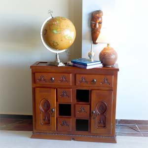 Solid Wood Sideboard 06