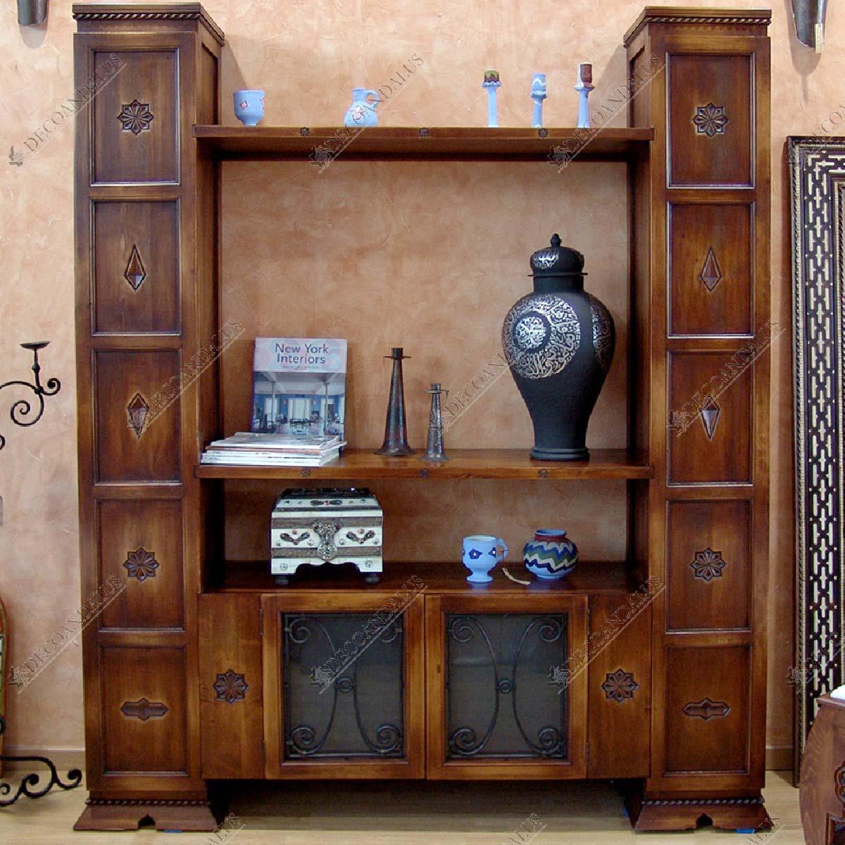 Mueble televisi n for Muebles estilo arabe