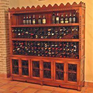 Botellero Madera Maciza 04
