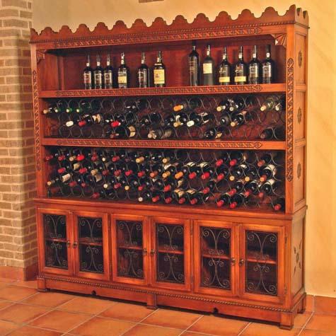 Botellero Madera 04