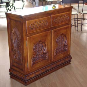 Solid Wood Sideboard 25