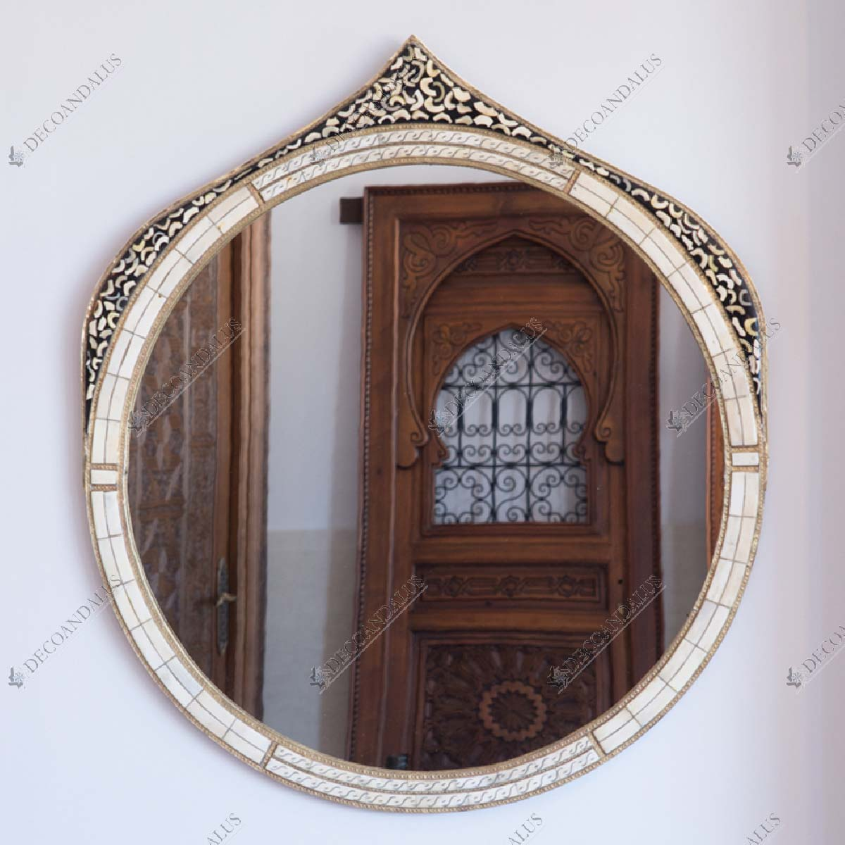 Bone Mirror Arabic Style 18