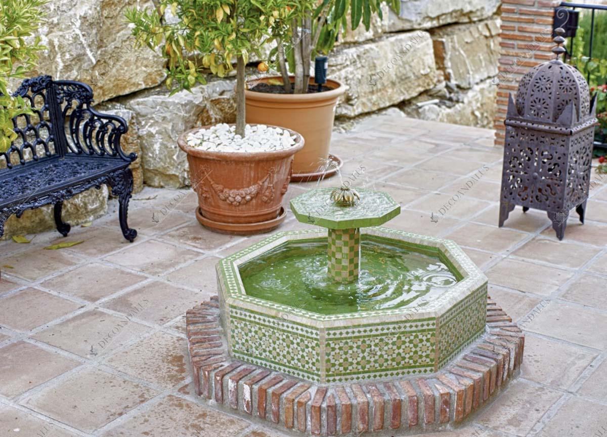 Fuente de jard n decoraci n exterior decoandalus - Fuentes para jardin exterior ...