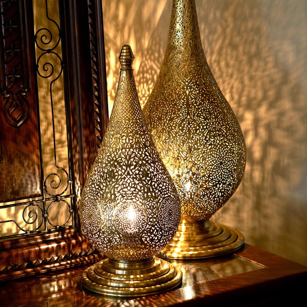 Iluminación estilo árabe. Lámparas árabes. Decoandalus Tienda Muebles Marbella