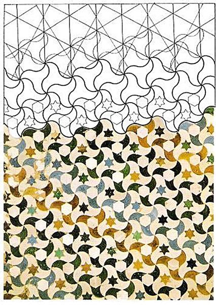 geometría mosaico